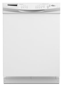 Whirlpool 23-7/8 in. 60dB 4-Cycle 6-Option Full Console Soak and Self Cleaning Oven WDU1055XTV