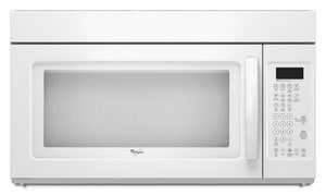Whirlpool 29-15/16 in. 1.7 cf Over The Range Microwave Oven with Hidden Sensor WWMH2175XV
