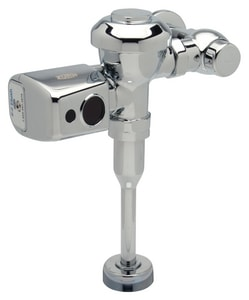 Zurn Industries AquaSense® 1 gal Sensor Battery Power Urinal Flush Valve ZZER6003PLWS1CPM