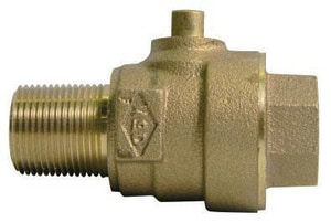 A.Y. McDonald MIP x FIP Ball Valve Corporation Stop M73149B