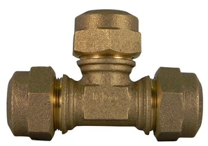 A.Y. McDonald CTS Compression Water Service Brass Tee M74760Q