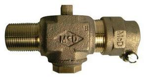 A.Y. McDonald MNPT x CTS Compression Corporation Stop M7470422