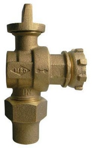 A.Y. McDonald Full Port Angle Ball Valve M74602BYF02