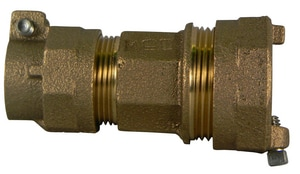 A.Y. McDonald CTS Compression x IP Compression Steel Brass Union M747582255