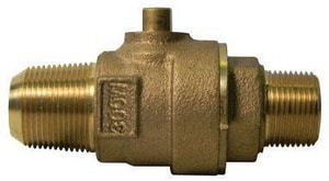 A.Y. McDonald CC x MIP Ball Valve Corporation Stop M73128B
