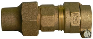 A.Y. McDonald 3/4 x 5/8 in. Flared Brass Reducing Coupling M74758C68FE