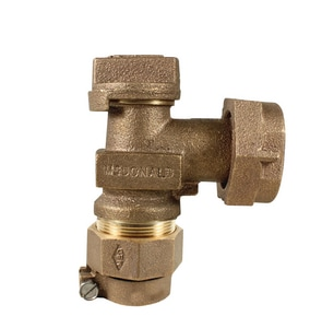 A.Y. McDonald Copper Tube Size Angle Meter Plug Valve M7460222G