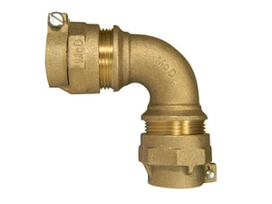 A.Y. McDonald 1 in. CTS Compression 90 Degree Elbow Bend M7476122G at Pollardwater