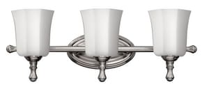 Hinkley Lighting Shelly 100W 3-Light Bath Vanity Fixture H5013