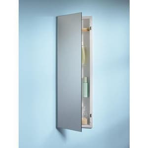 Jensen Pillar Frameless Recessed Mount Medicine Cabinet in White R735M34WH