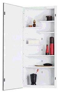 Rangaire Focus 36 x 16 in. Single Door Frameless Medicine Cabinet R835P34WH