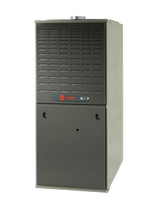 Trane XC80 Series 17-1/2 in. 80% AFUE 3 Ton Two-Stage Upflow 1/2 hp Natural or LP Gas Furnace TTUD2BACV32A
