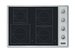 Viking Range 30 in. Induction Cooktop with 4-Burner VVICU2064BSB