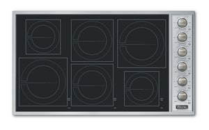 Viking Range 36 in. Induction Cooktop with 4-Burner VVICU2666BSB