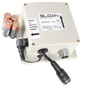 Sloan Valve Control Box Type with Button S0362040