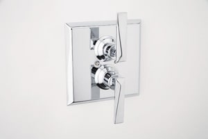 Rohl Thermostatic Trim Plate with Volume Control RA4009LV