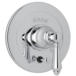 Rohl Italian Country Bath Pressure Balancing Trim Kit with Integrated Volume Control RA7400LM