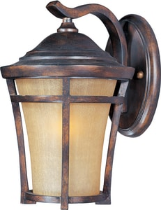 Maxim Lighting International Balboa 10 in. 100 W 1-Light Medium Lantern in Copper Oxide M40164GFCO