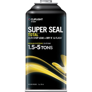 Cliplight Manufacturing Super Seal Total™ 1.5 - 5 Tons Sealant DIV972KIT
