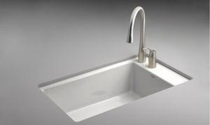 Kohler Indio® 2-Hole Undercounter Basin Kitchen Sink K6410-2