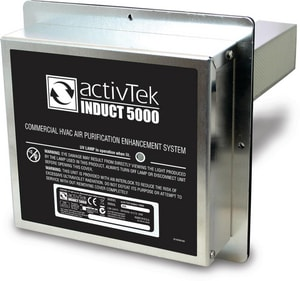 Activ Tek Environmental 100/277 V Induct 5000 Air Purification System AUS40536