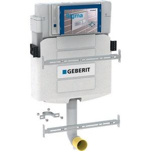 Geberit manufacturing 1 6 gpf toilet tank in white 109 for Geberit tank