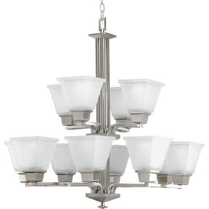 Progress Lighting North Park 100W 12-Light Medium E-26 Incandescent Chandelier PP4053