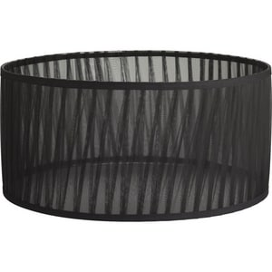 Progress Lighting 18 in. Large Chiffon Shade Black PP877201