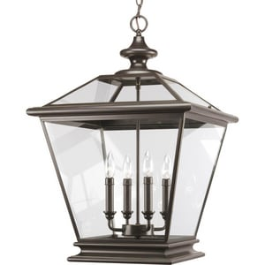 Progress Lighting Crestwood 4 Light 60W Lantern Antique Bronze PP390420
