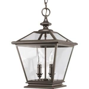 Progress Lighting Crestwood 60 W 2-Light Candelabra Foyer Lantern PP3902