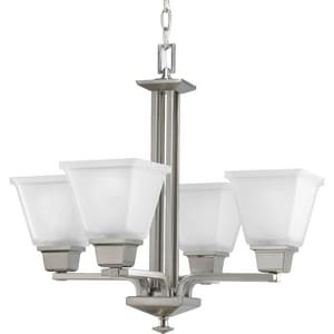 Progress Lighting North Park 100W 4-Light Medium Base Incandescent Chandelier PP4001