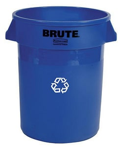Rubbermaid Brute® Recycling Container RFG263273BLUE