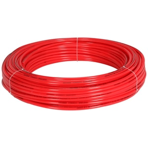 Qest 1/2 in. Poly Tube Plastic Tubing QQHR3PCFX
