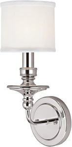 Capital Lighting Fixture Midtown 60 W 1-Light Candelabra Sconce C12314