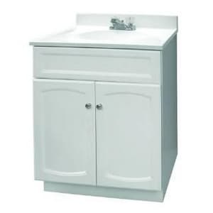 Foremost Industries 24 x 18 in. Vanity with Marble Top in White FHEW2418