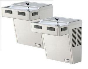 Halsey Taylor Contour™ 27 in. 8 gph Wall Mount ADA Water Cooler HHAC8FSBLWFQADA