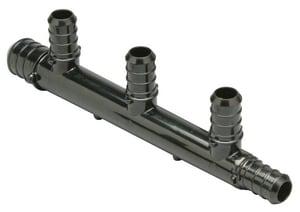 Qest QickSert CR™ 160 psi Plastic PEX Crimp 3/4 x 1/2 in. Valve Manifold QQPM434