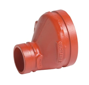 Victaulic 1000# Painted Ductile Iron Grooved Eccentric Reducer VFC43051P00