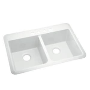 Sterling Plumbing Group Slope® 33 x 22 x 9 in. Double Equal Sink S10424