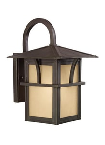 Seagull Lighting Medford Lakes 10 in. 100 W 1-Light Medium Lantern S8888151