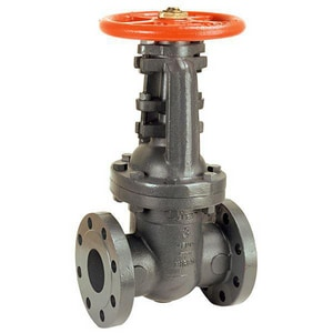 Nibco Cast Iron Floor Mount Flanged Outside Stem and Yoke Gate Valve NF697O