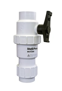 Liberty Pumps Ball and Check Valve LBCV