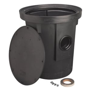Liberty Pumps 22 in. Poly Roll Top Sump Pit LSP1822