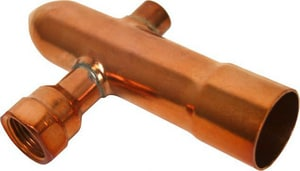 Viega North America 1-1/2 in. Copper Manifold End Cap V17125
