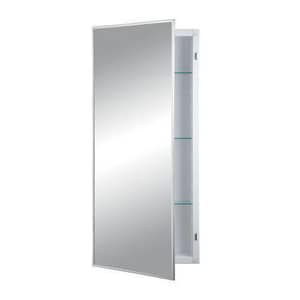 Rangaire Federal Single Door Recessed Medicine Cabinet R460P34CH