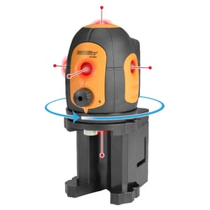 Johnson Level and Tool 5-Beam Self Leveling Laser Dot J406680