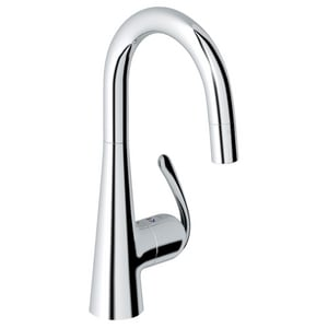 Grohe Ladylux3 Pro 1-Hole Sink Mixer Faucet with Single Lever Handle G32283