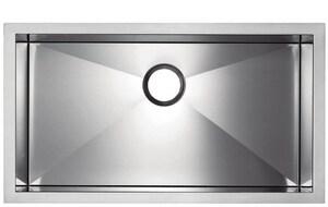 Blanco America Precis™ MicroEdge Single Bowl Sink Polished Satin BLA516201