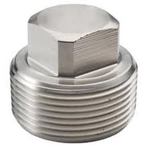 Frischkorn Galvanized Carbon Steel Square Head Plug IGSSP