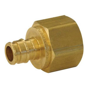 Uponor North America ProPEX® PEX x NPT Brass Female Adapter ULF4571
